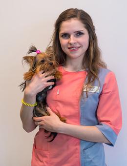 Котова Анна Александровна - врач-ординатор ЦЕНТР КЛИНИЧЕСКОЙ ВЕТЕРИНАРИИ
